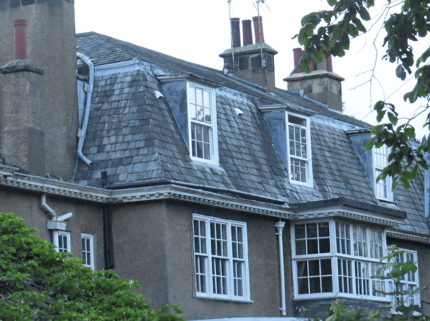 large property with tiling roof